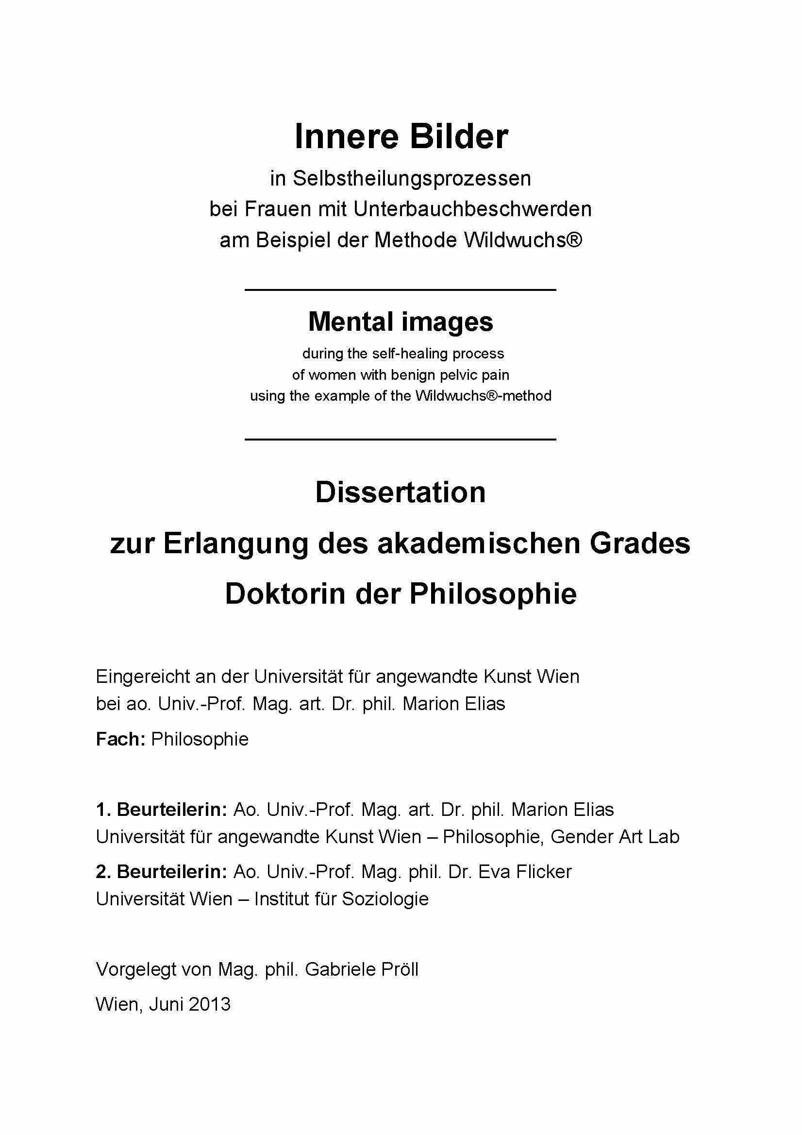 Dissertation verlag hardcover
